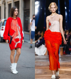 Latest Trends - Ravishing in Red from the Streets to the Runway