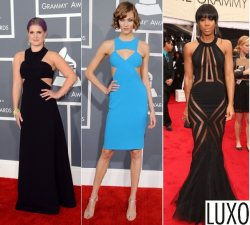 Rocking the Cut Out Trend on the Grammy Red Carpet
