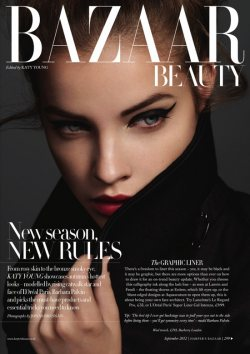 The fresh look with Harper's Bazaar