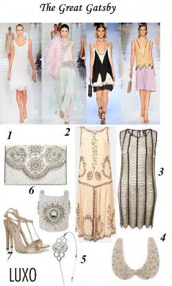 Get the look - The Gatsby Inspired Look!