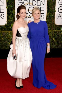 The Golden Globes Red Carpet 2015
