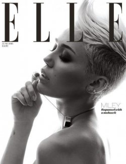 The New Miley Cyrus for Elle UK