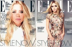 The Olsen Twins for ELLE UK