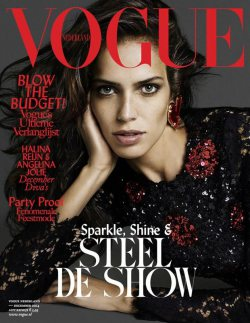 Vogue Netherlands December 2014 Cover
