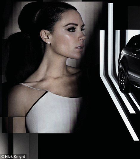 Victoria Beckham for Range Rover Evoque in China
