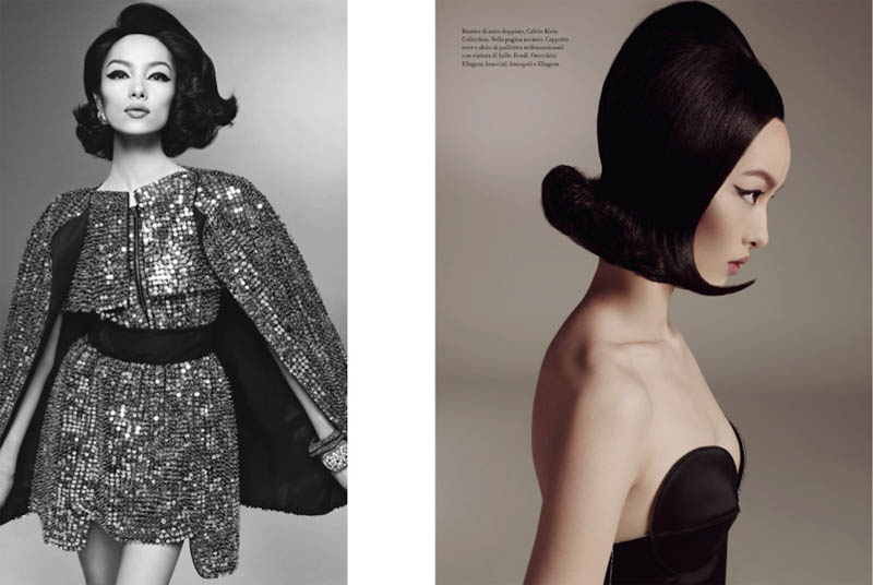 Fei Fei for Vogue Italia Beauty