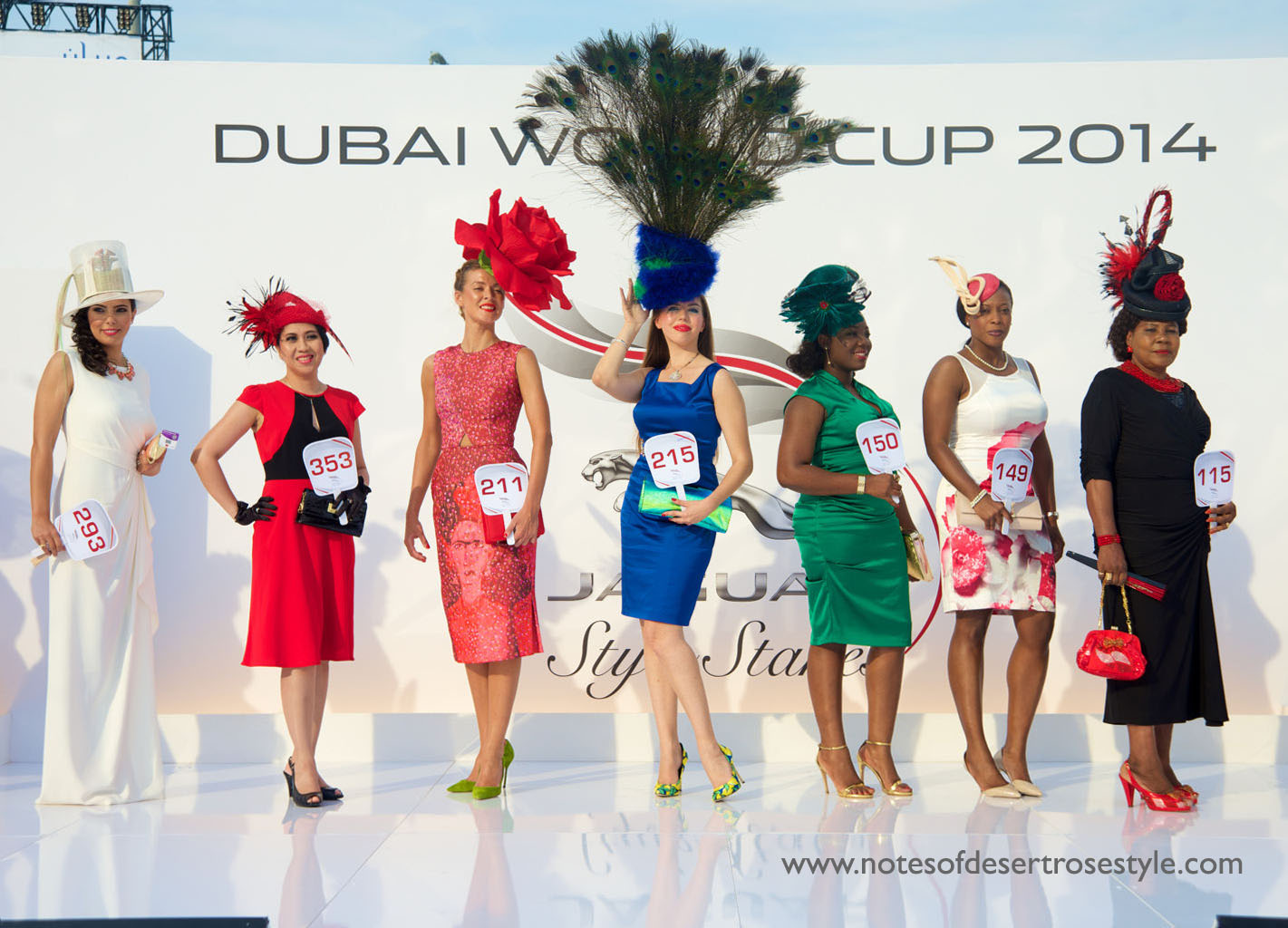 Style Guide For The Dubai World Cup