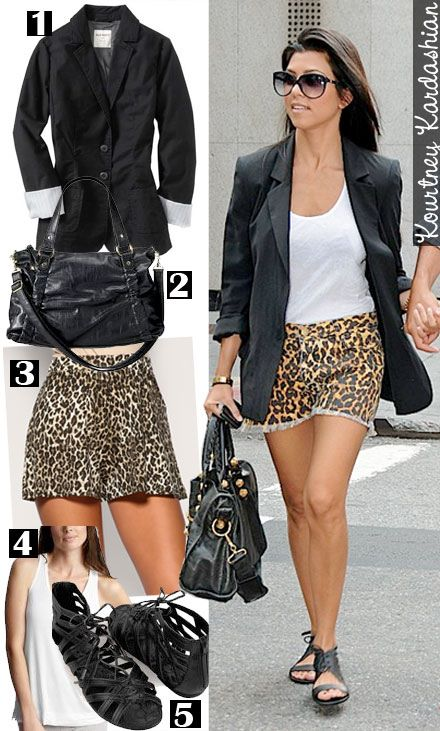 Get Kourtney Kardashianu0026#39;s Summer Style