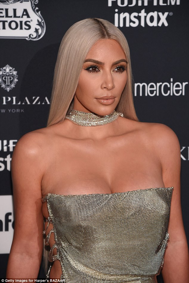kim kardashion at nyfw 2018