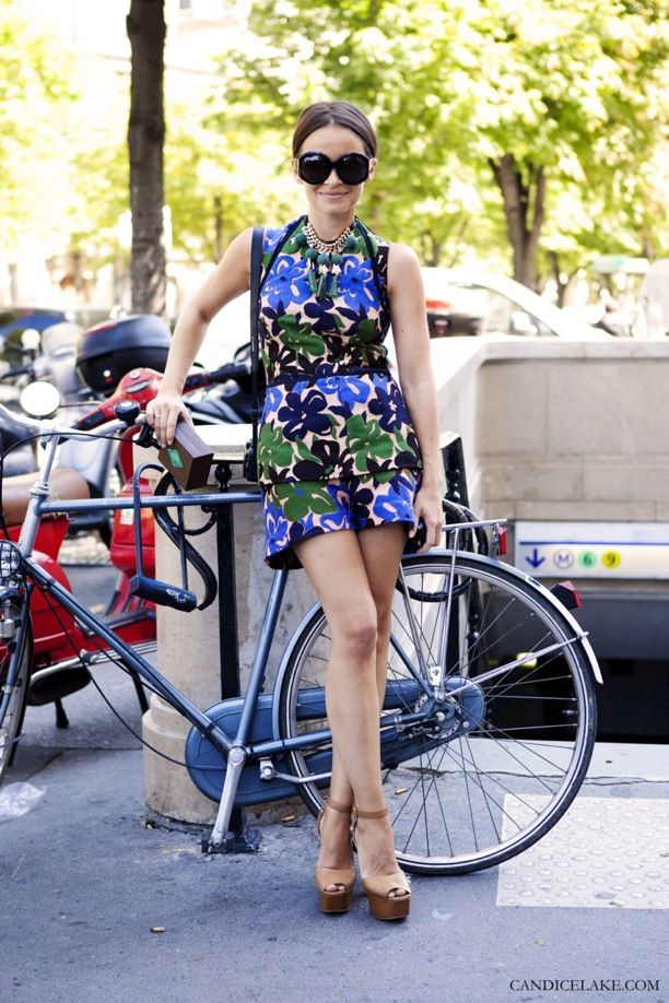 Print on Print fashion trend on the streets