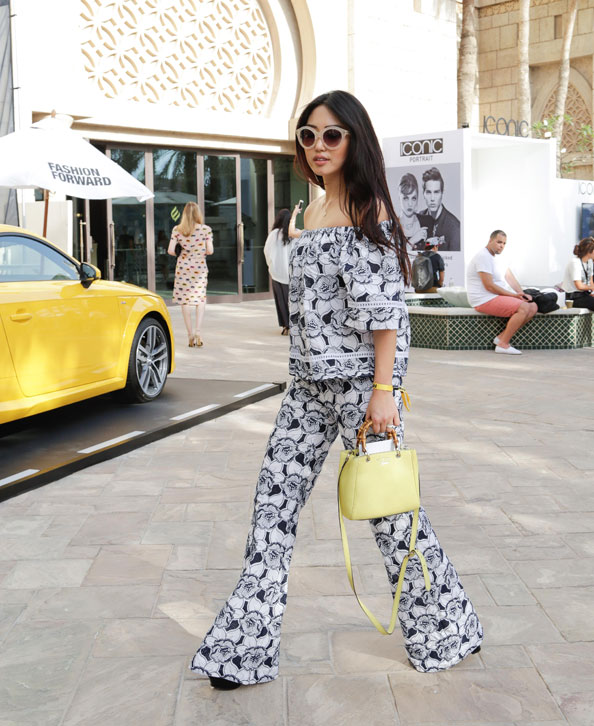 Street Style Dubai Fashion Forward 2015