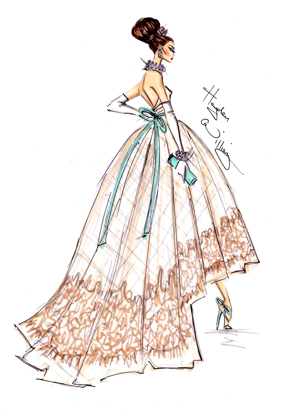 Fashion Sketches By Hayden Williams