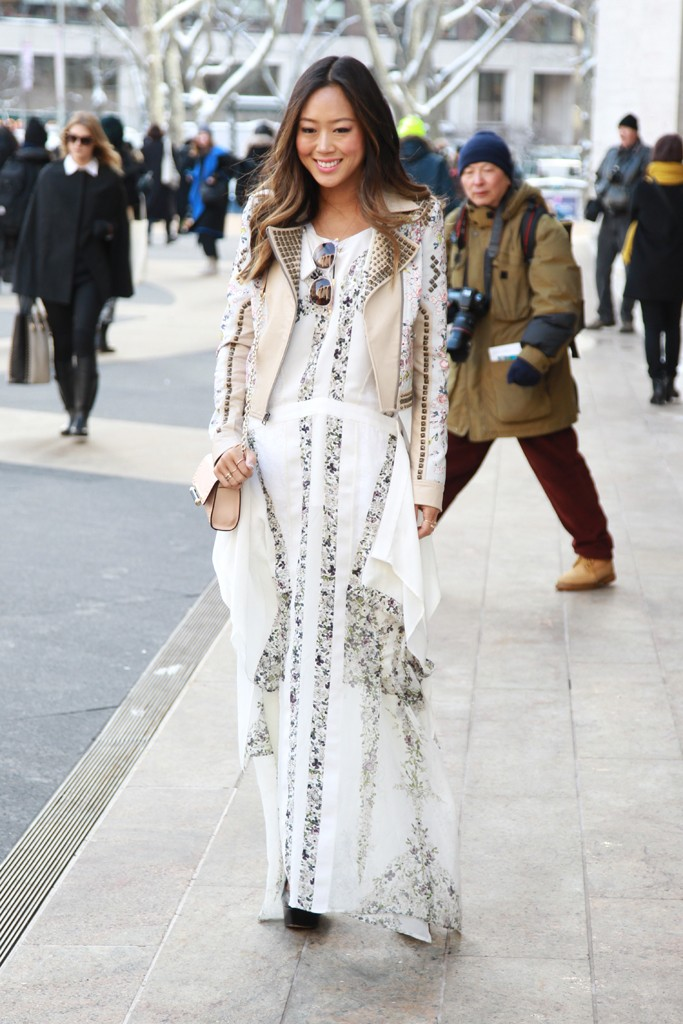 Street Style At New York Fashion Week 2014