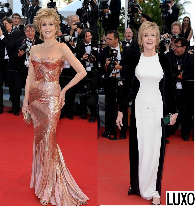 jane fonda best looks at cannes 2012