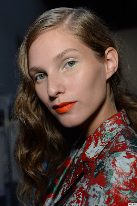makeup trends for SS 2014