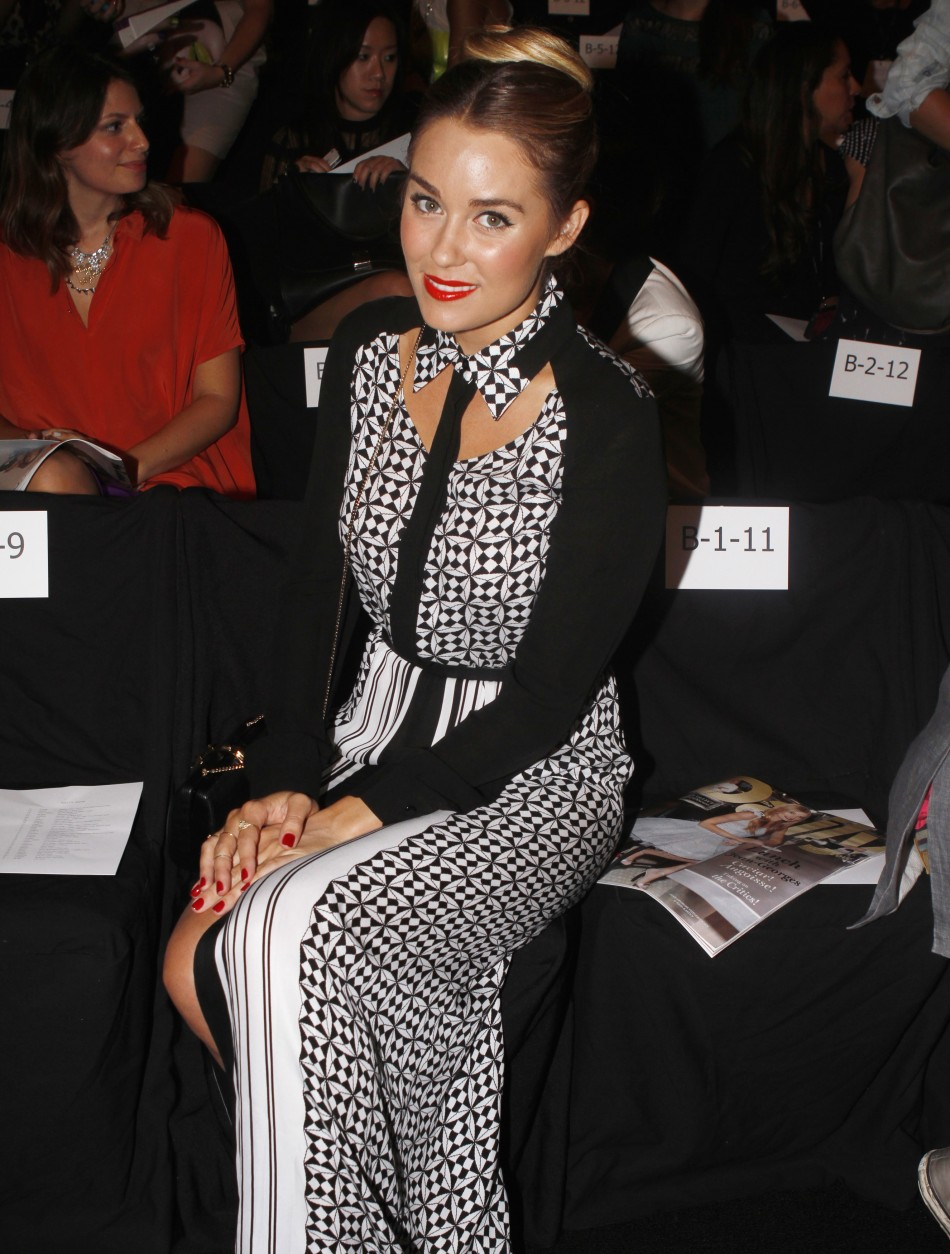 Celebrities at New York fashion week 2013