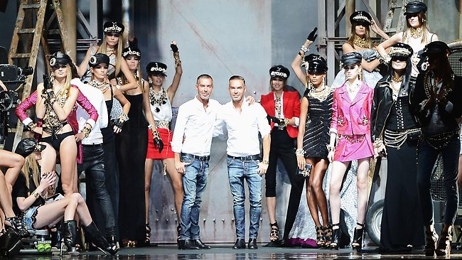 DSquared at Milan Fashion Week 2013