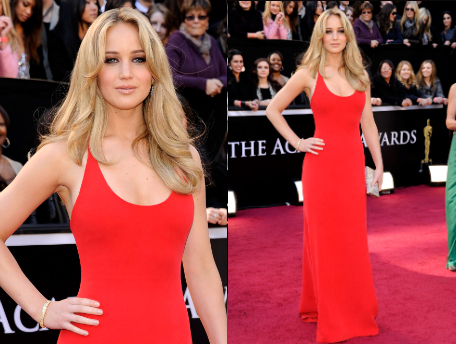 Jennifer Lawrence 2011 Oscars