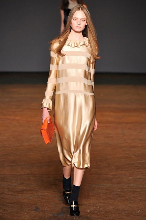 Metallics Fashion Trend 2012