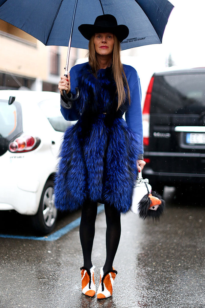 Anna Dello Russo Fashion Week 2013
