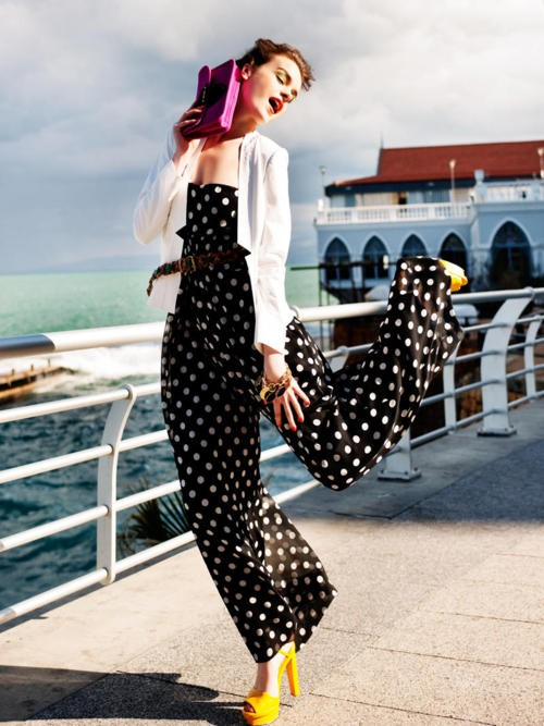 Polka dot trend for summer 2012 luxo