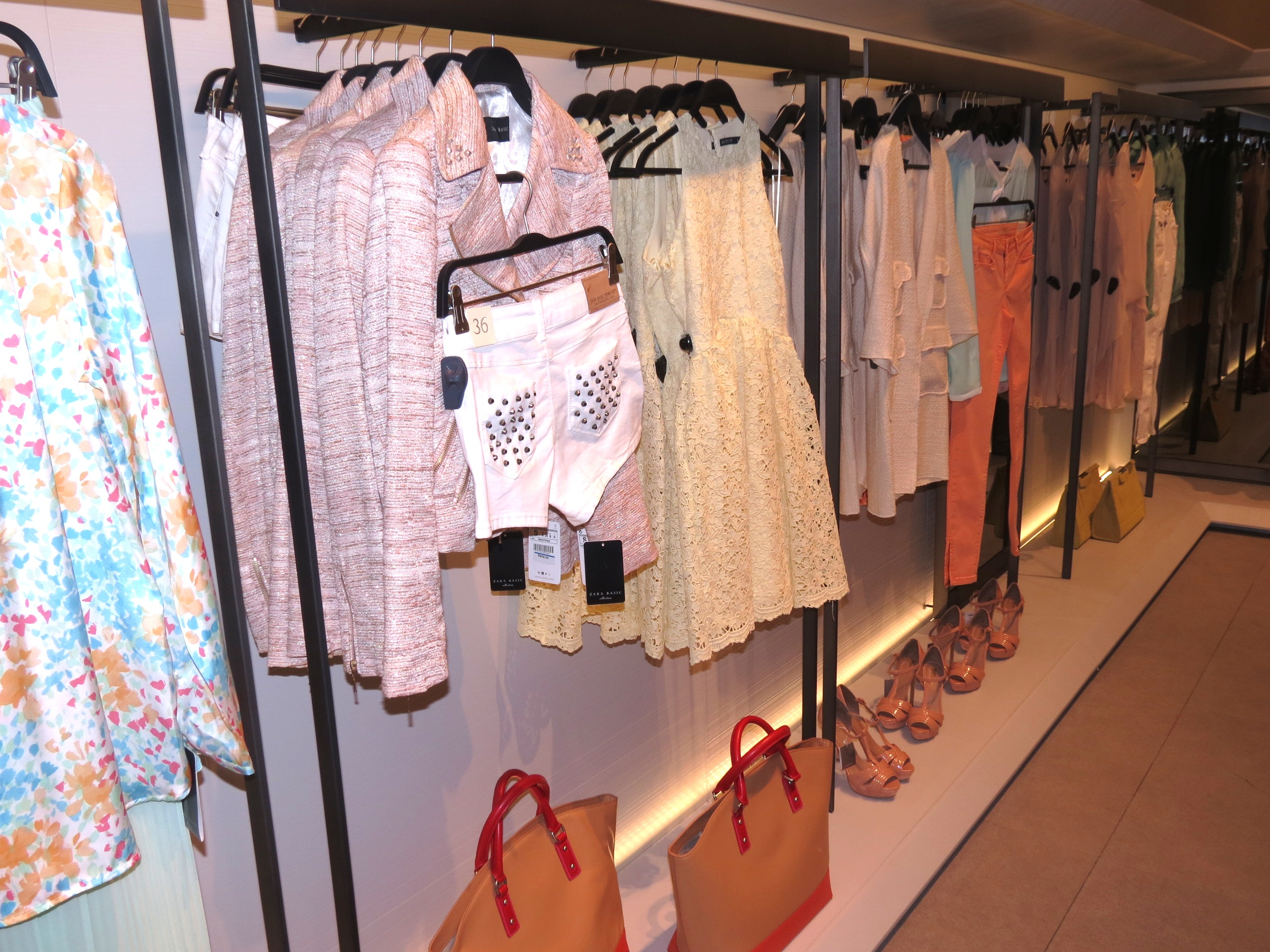 ZARA opening in Cape Town 2012