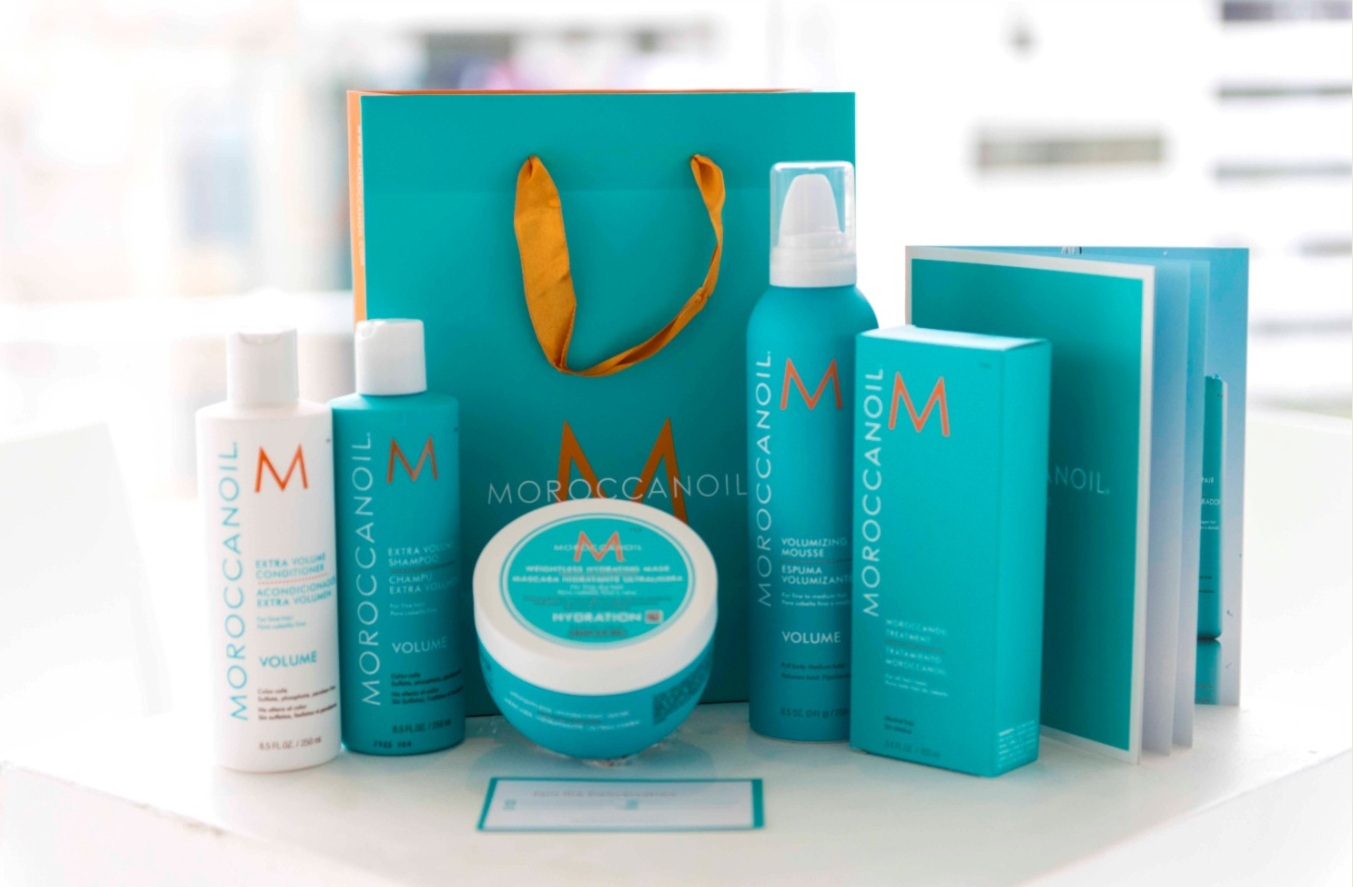 Moroccan oil launch