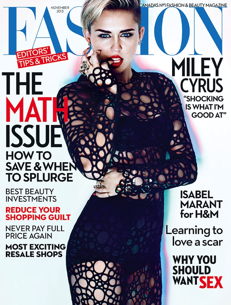 The controversial miley cyrus