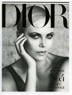 Charlize Theron for Dior Magazine