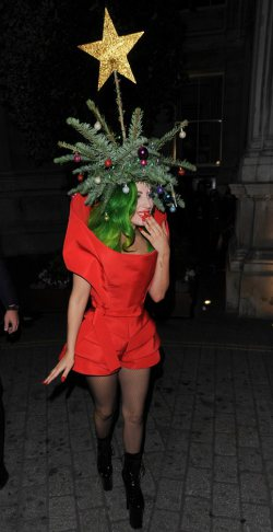 Merry Christmas from Lady Gaga